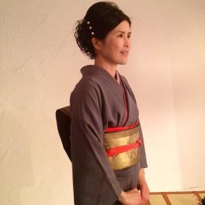 Soko's Profile in Kimono